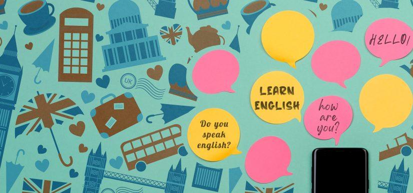 LET'S SPEAK ENGLISH TOGETHER